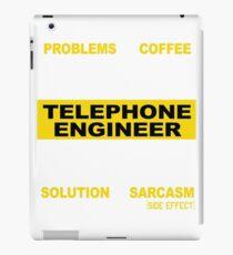 TELEPHONE ENGINEER iPad Case/Skin