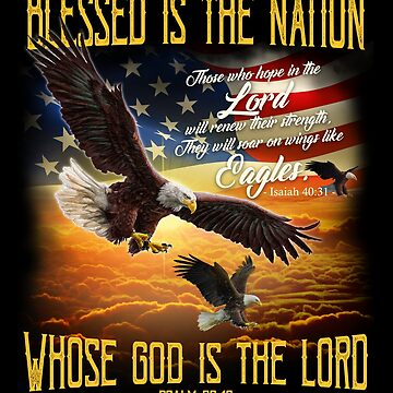 U.S.A - Blessed Is The Nation Whose God Is The Lord by vince58