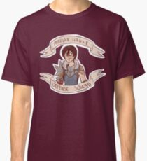 Dragon Age 2 - MARIAN HAWKE DEFENSE SQUAD Classic T-Shirt