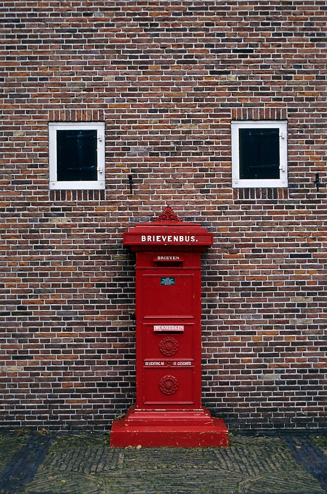 Red Letter-box by Petr Svarc