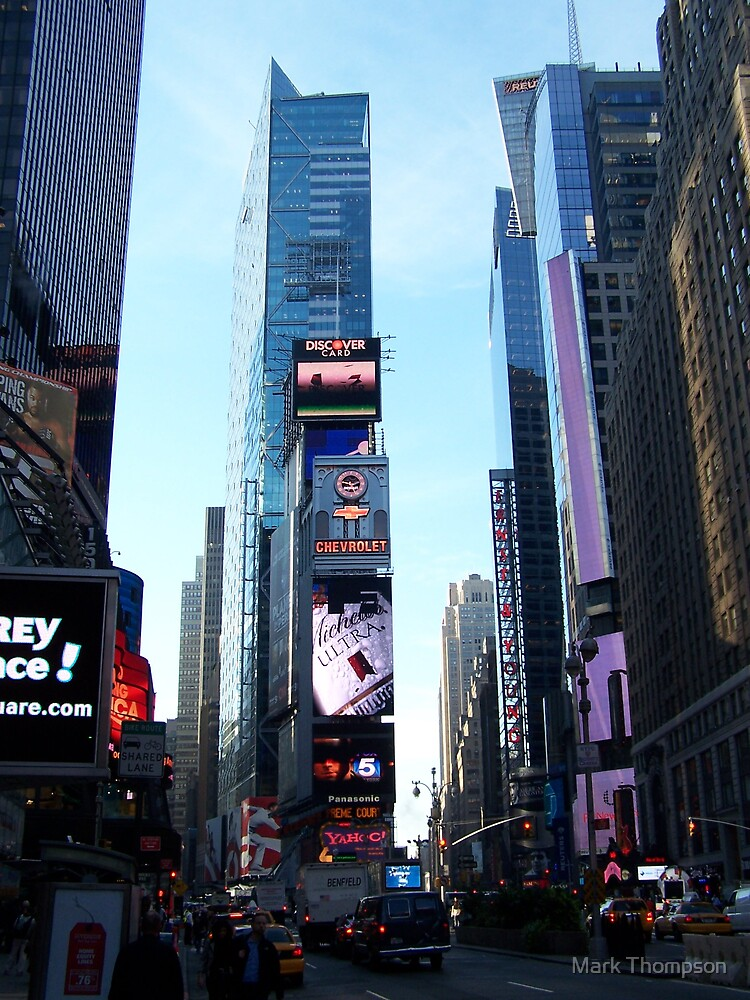 Times square by Mark Thompson