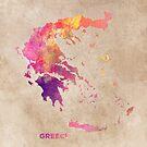 Greece map #greece #map by JBJart