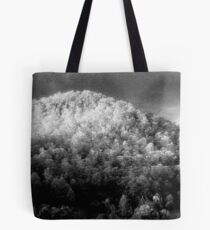 Big hill little trees............daniland  Tote Bag