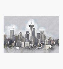 Lámina fotográfica Seattle