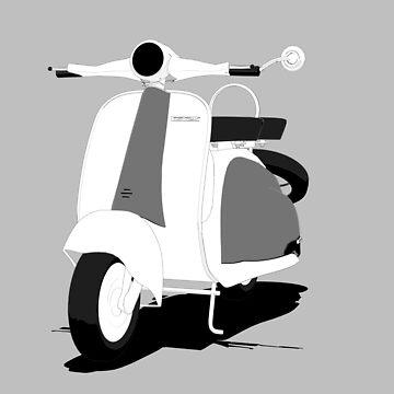 classic scooter by Boxzero