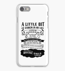TVD Song iPhone Case/Skin
