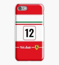 Niki Lauda 1975 iPhone Case/Skin