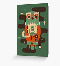 Owlstranaut Greeting Card