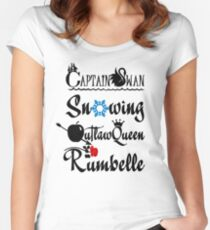 Ships Women's Fitted Scoop T-Shirt