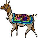 Lofty Llama by elledeegee