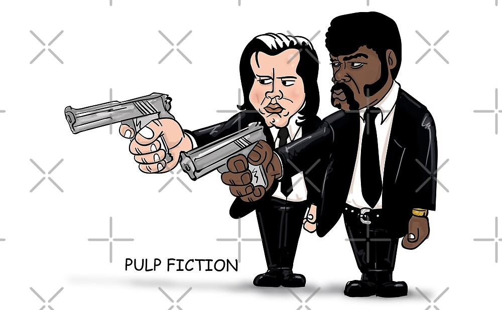 pulp fiction by Fgworks Designs