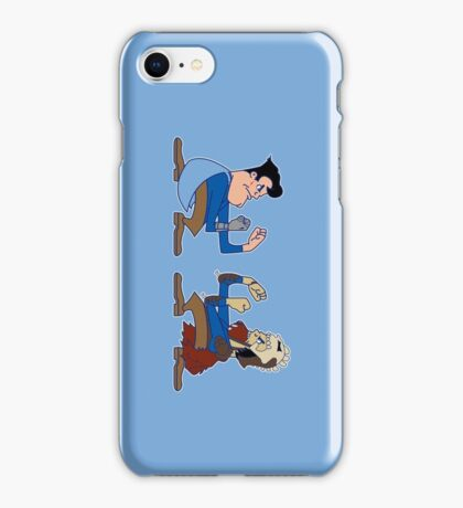 Fighting Ash vs Evil Ash iPhone Case/Skin