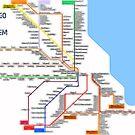 Chicago Rail System by mrthink
