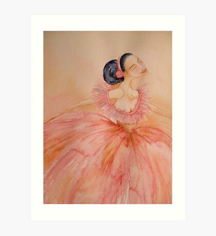 Prima Ballerina 'Le Belle Ballerine' © Patricia Vannucci 2008 Art Print