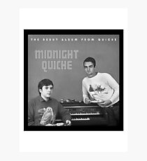 Midnight Quiche Photographic Print