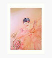 Brava 'Le Belle Ballerine' © Patricia Vannucci 2008  Art Print