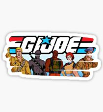 G.I. Joe Animated series Sticker