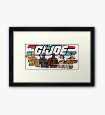 G.I. Joe Animated series Framed Print