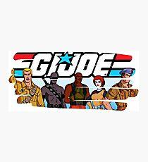 G.I. Joe Animated series Photographic Print