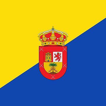 Gran Canaria Flag by Tonbbo