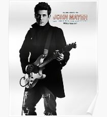 john mayer tour 2017 Poster