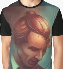 Sherlock In A Bun Graphic T-Shirt