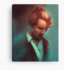 Sherlock In A Bun Canvas Print