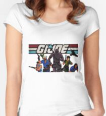 G.I. Joe Animated series Women's Fitted Scoop T-Shirt