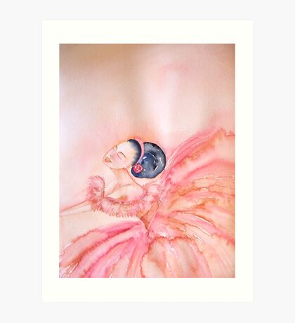 Encore 'Le Belle Ballerine' © Patricia Vannucci 2008  Art Print
