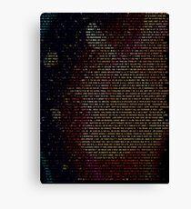 Radiohead - In Rainbows Canvas Print