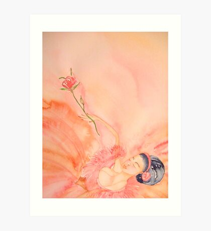 Stanca Finalmente - Tired At Last 'Le Belle Ballerine' © Patricia Vannucci 2008  Art Print