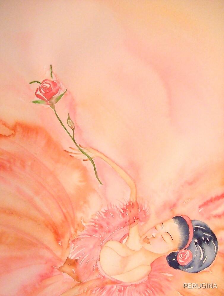 Stanca Finalmente - Tired At Last 'Le Belle Ballerine' © Patricia Vannucci 2008  by PERUGINA