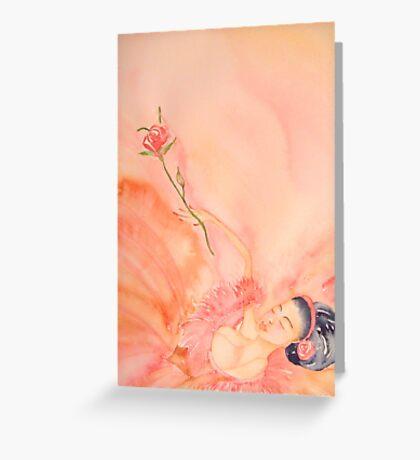 Stanca Finalmente - Tired At Last 'Le Belle Ballerine' © Patricia Vannucci 2008  Greeting Card