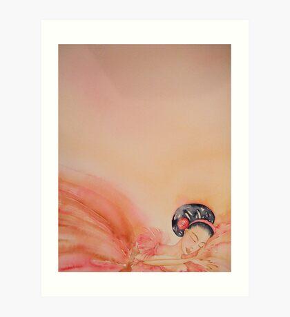 Si Riposa - She Rests 'Le Belle Ballerine' © Patricia Vannucci 2008  Art Print