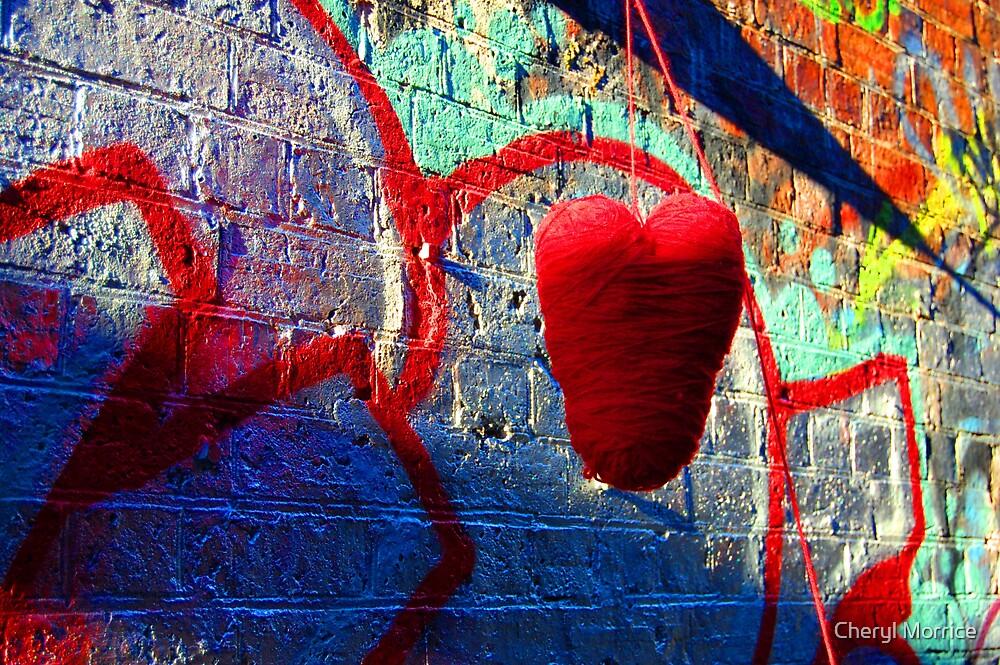 heart strings by Cheryl Morrice