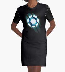 Arc Reactor T-shirt Design Graphic T-Shirt Dress