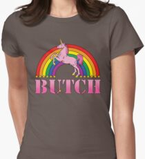 Butch! Womens Fitted T-Shirt