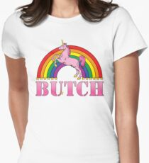 Butch! Tailliertes T-Shirt