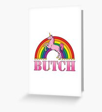 Butch! Greeting Card