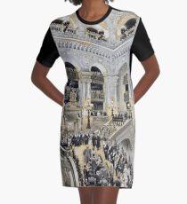 Palais Garnier Graphic T-Shirt Dress