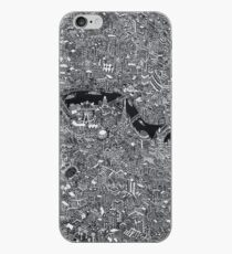 Map of London Thames iPhone Case