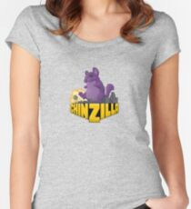 Chinzilla Women's Fitted Scoop T-Shirt