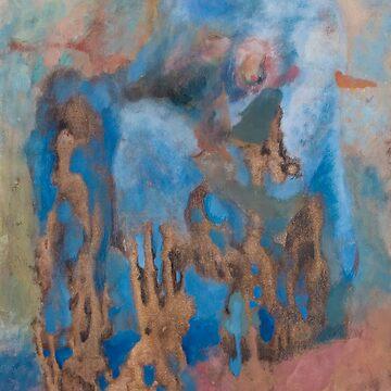 BLUE WOMAN by Lora