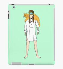 Holly and Cat iPad Case/Skin