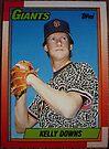 292 - Kelly Downs by Foob's Baseball Cards