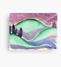 Sunset Hills Canvas Print