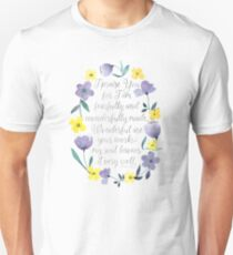 Fearfully and Wonderfully Made - Psalm 139:14 Unisex T-Shirt