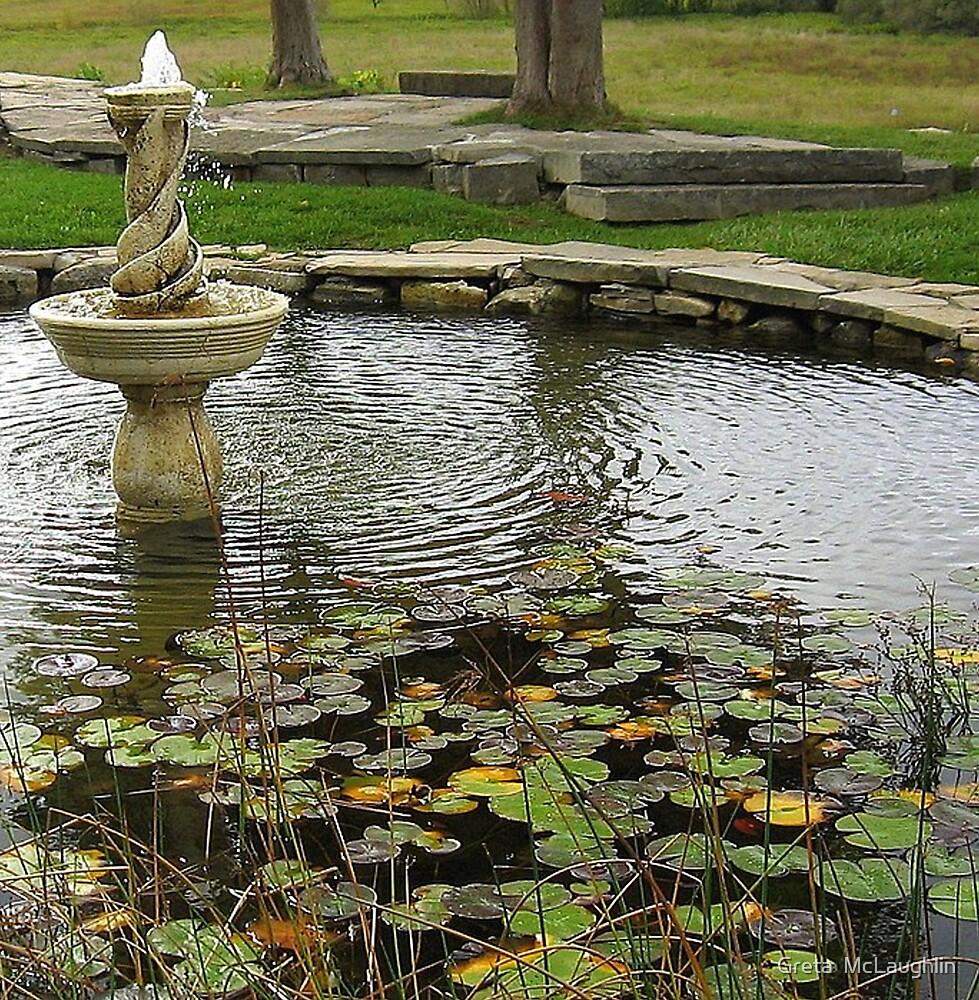 Fountain by Greta  McLaughlin