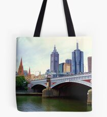 Princes Bridge Melbourne Tote Bag