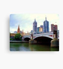 Princes Bridge Melbourne Canvas Print